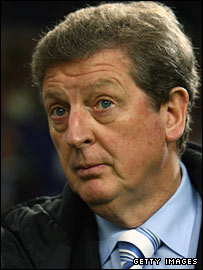 Finland manager Roy Hodgson