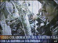 Video trasnmitido por la televisi�n venezolana.