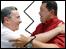 Álvaro Uribe y Hugo Chávez