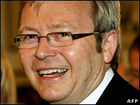 Kevin Rudd on 29 November 2007