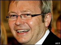رئيس وزراء استراليا الجديد  كيفن رود