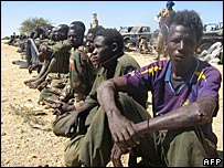 UDFF prisoners taken in Chad  on 26 November 07