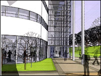 Motherwell College (Artist's impression)