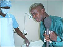 Kennedy Gondwe after his operation