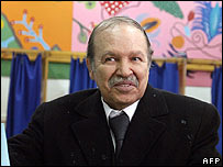 Algeria President Abdelaziz Bouteflika