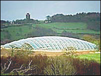 Glasshouse,  National Botanic Garden of Wales