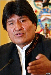 Bolivia's President Evo Morales (Photo: Javier Mamani/AFP/Getty Images)