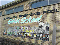 Blaenavon swimming pool