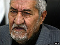 Prominent Iraqi Sunni MP Adnan al-Dulaimi, leader of the Accordance Front, whose son is being held.