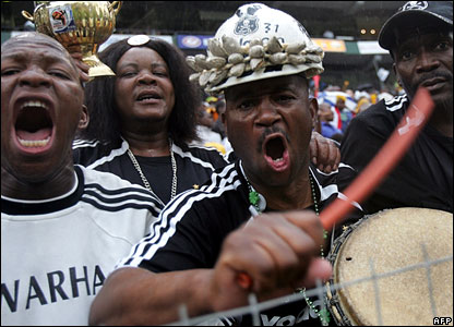 South Africa Orlando Pirates supporters