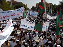 Teacher protest in Khartoum