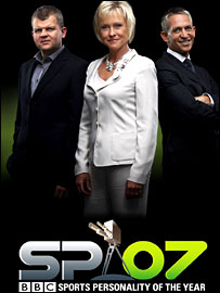 Presenters Adrian Chiles, Sue Barker and Gary Lineker