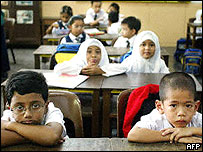 Children in a Malaysian school (file photo)