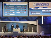 Scotland are drawn in Group 9 at the World Cup qualifying draw