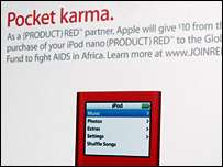Apple's Red Product iPod