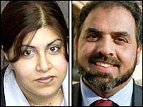 Baroness Warsi and Lord Ahmed
