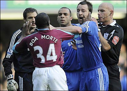 John Terry punch