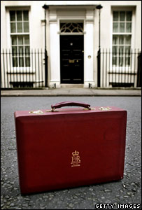 Replica budget box standing outside No 11