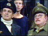 Dad's Army scene