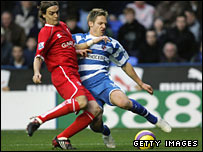Jonathan Woodgate tackles Kevin Doyle