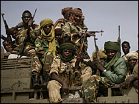 Chad government troops - archive image