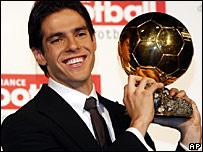 AC Milan's Brazilian star Kaka