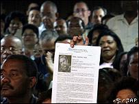 Asamblea en Santiago de Cuba nominando a Fidel Castro