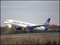 Thomas Cook aeroplane