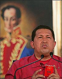 شافيز يقر بالهزيمة