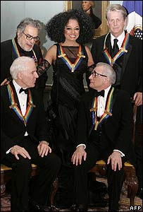 Steve Martin, Leon Fleisher, Diana Ross, Brian Wilson and Martin Scorsese