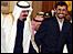 احمدي نجاد والملك عبدالله