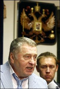 Владимир Жириновский и Андрей Луговой
