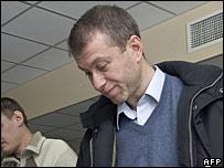 Roman Abramovich votes in Russia's parliamentary elections in Chukotka region