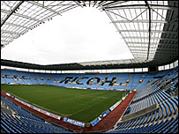 General view of the Ricoh Arena