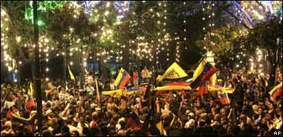 Los estudiantes encabezaron el movimiento en contra de la reforma.