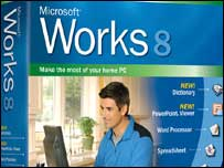 Works pack shot, Microsoft