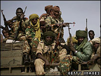 Chad government troops