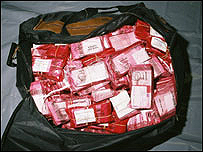 Money found in Welling