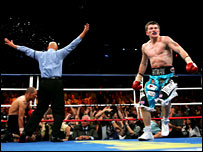 Cortez refereed Hatton's win over Jose Luis Castillo