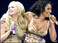 Emma Bunton and Melanie Brown