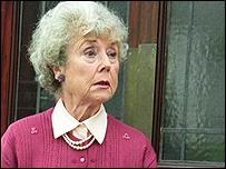 Actress Hilda Braid