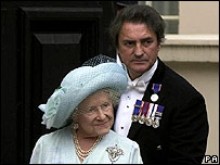 William Tallon and the Queen Mother