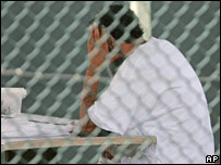 Prisoner at Guantanamo Bay
