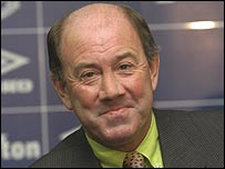 Former Everton manager Howard Kendall