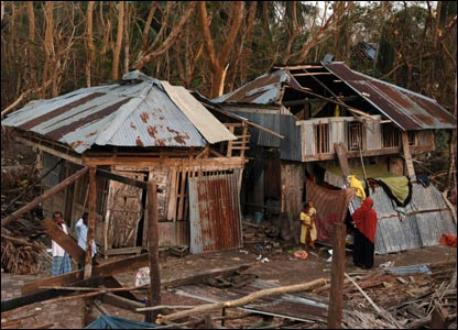 demolished houses in Bangladesh [Pic: Mark Pearson/Shelterbox]