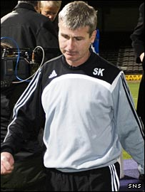 Dunfermline manager Stephen Kenny