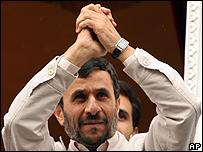 Mahmoud Ahmadinejad, presidente de Irán / Foto de archivo