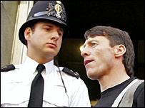 Kieren Fallon after his arrest