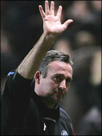 Wycombe manager Paul Lambert