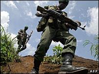 Soldados de RD Congo